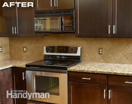 5 Refacing Cabinets using Wood Veneer 3 Simphome com