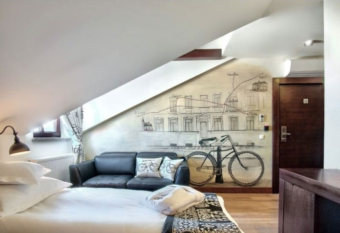 10 A Bedroom for An Avid Biker Simphome com