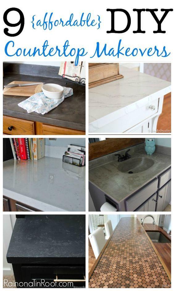 23 Nine affordable DIY countertops Simphome