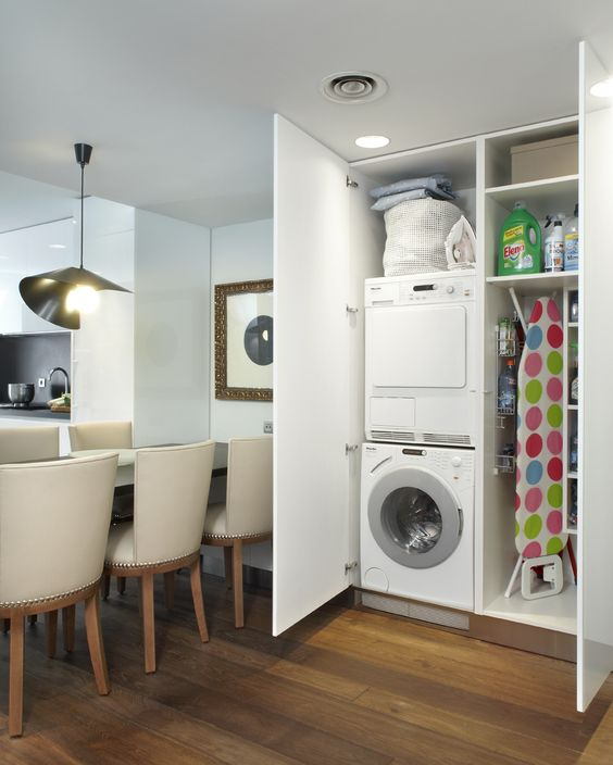 39 Small laundry room makeover idea by Moilnsdesign Simphome
