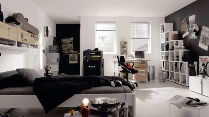 7 Black and White Bedroom for Boys Simphome com