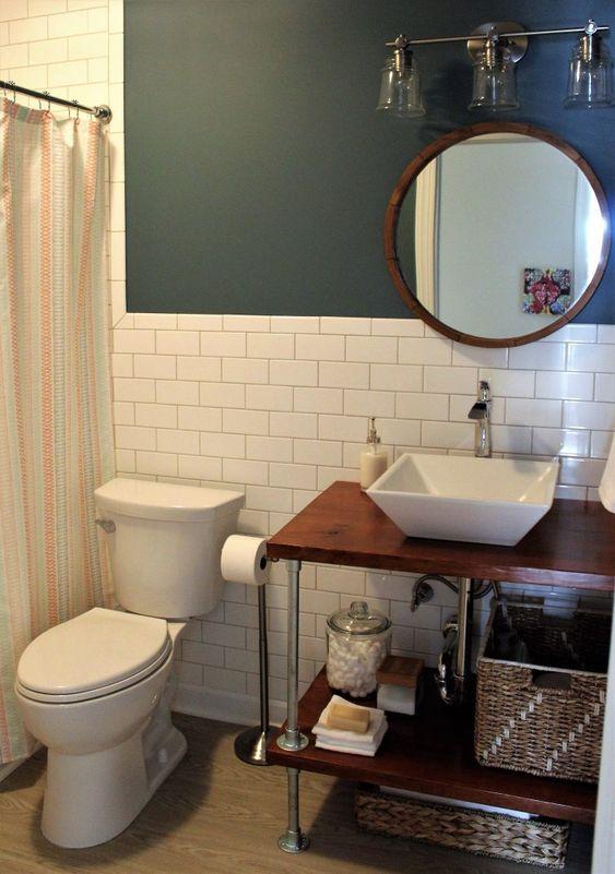 9 Bathroom Vanity with Open Shelves Simphome com