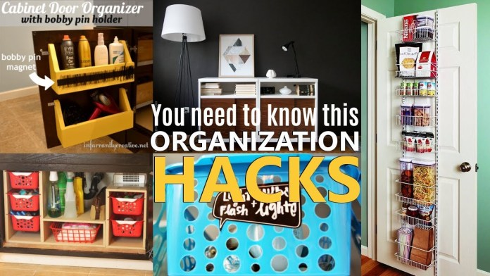 Home Organization and DIY project ideas for Small Space
