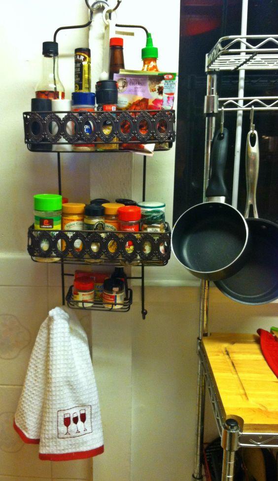 238 Handy Shower Caddy via simphome com