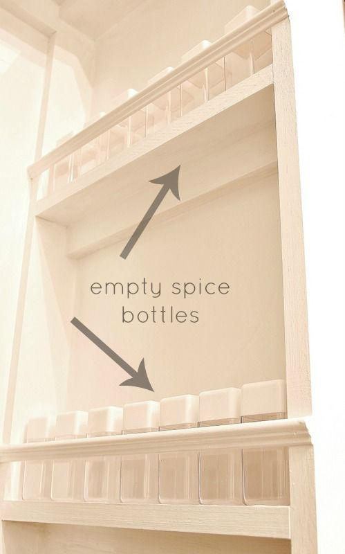 245 How to Make a Built In Spice Rack via simphome