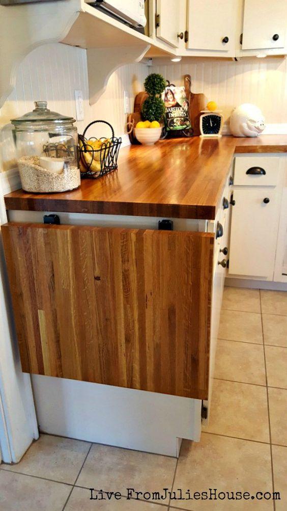 313 DIY budget kitchen renovation idea via simphome