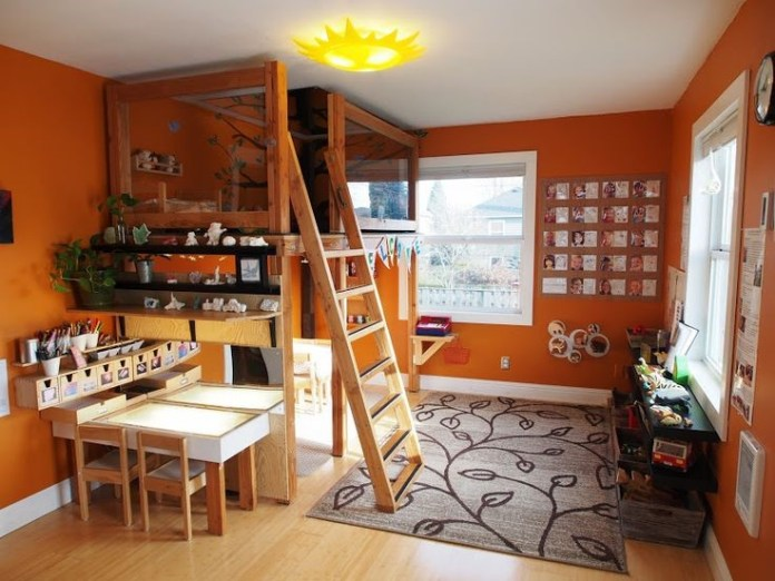 8 Small Bedroom Ideas for Kids via simphome