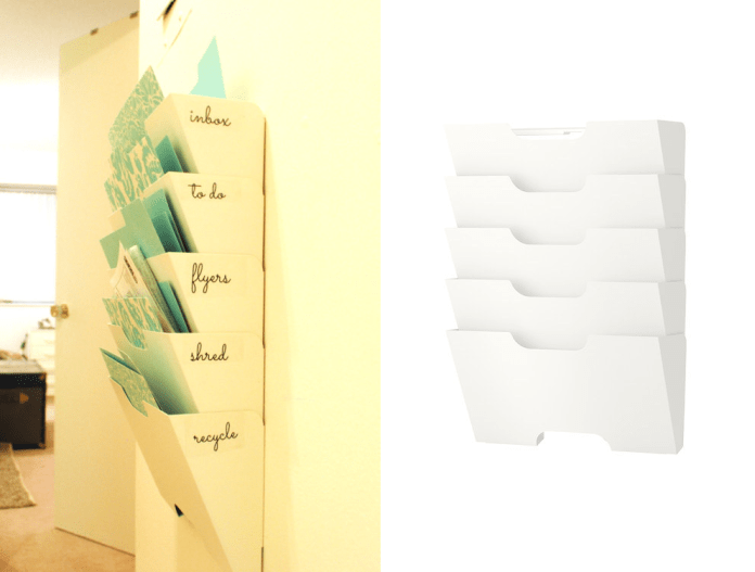 32 The Kvissle magazine rack will reign in your clutter as a mail center via simphome