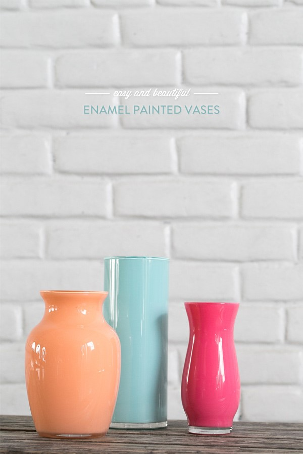 7 Colorful Vases via simphome