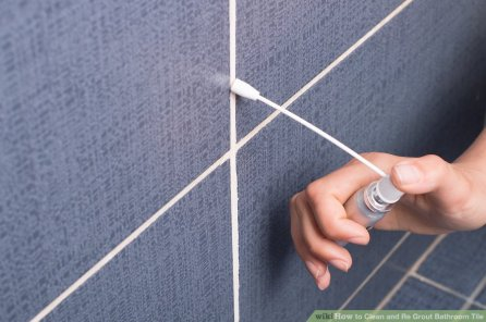 7 Re Grout Your Bathroom Tiles via simphome Step 8