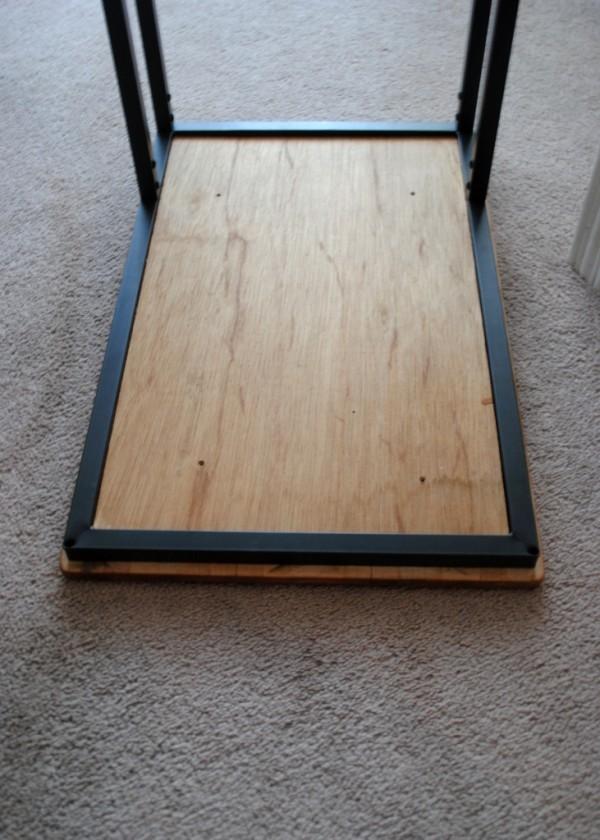 Simple idea how to Hack Ikea Vittsjo Laptop Stand via simphome 6