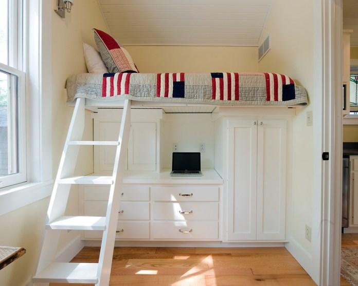 10 Turn it into a Loft Bed via simphome