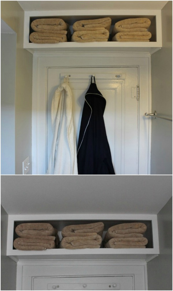 5 Above the Door Shelf via simphome