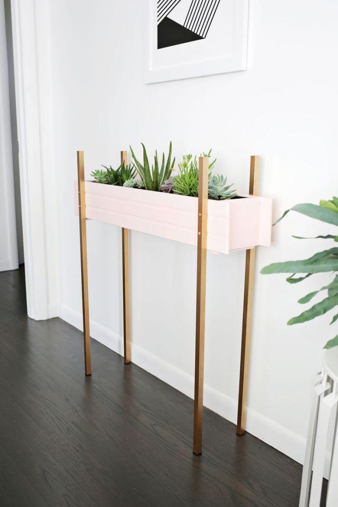 9 Skinny Planter Stand via simphome