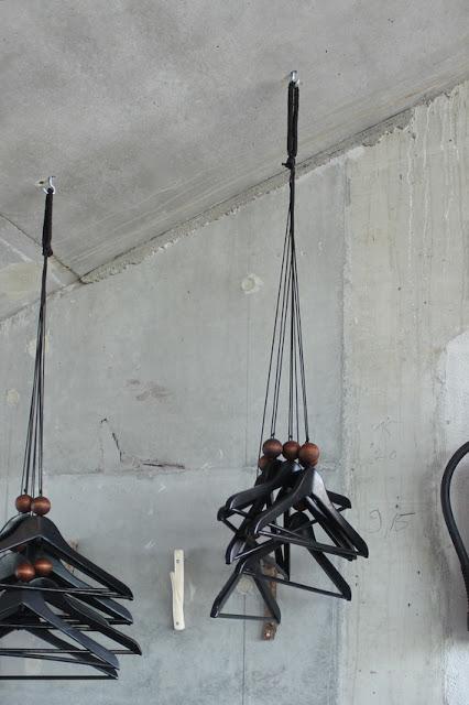 inspiration coat hanging idea via simphome