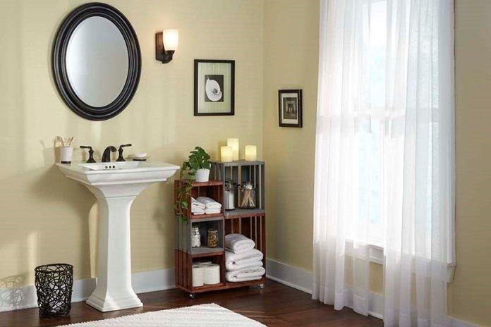 1 Rolling Bathroom Storage via Simphome