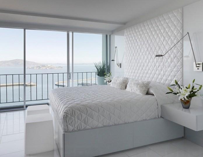 9 Minimalist design bedroom idea via Simphome
