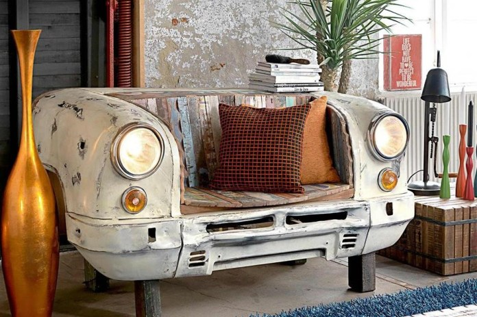 1.Old Car Sofa via Simphome