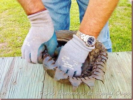 Tire as Planter via Simphome 7