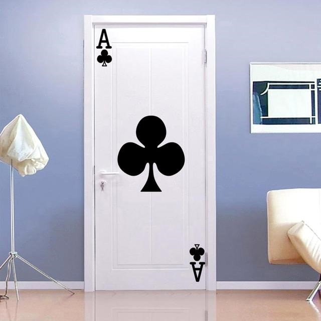 5. Artistic Ace of Clubs via Simphome