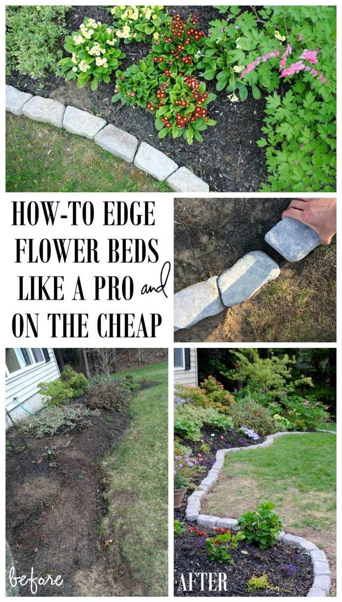 cheap and easy garden edging ideas for 10 diy garden edging ideas most of the amazing and gorgeous credit fairygardenhavens.com