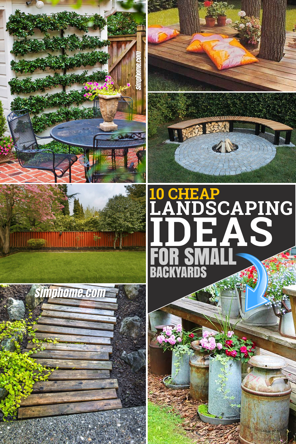10 Cheap Landscaping Ideas For Small Backyards Simphome