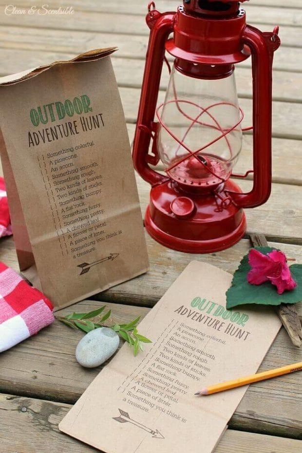 2. Outdoor Adventure Hunt via SIMPHOME.COM