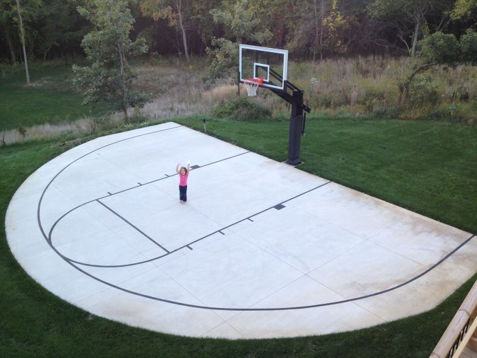 17.SIMPHOME.COM backyard basketball court ideas indoor outdoor courts elizabeth erin
