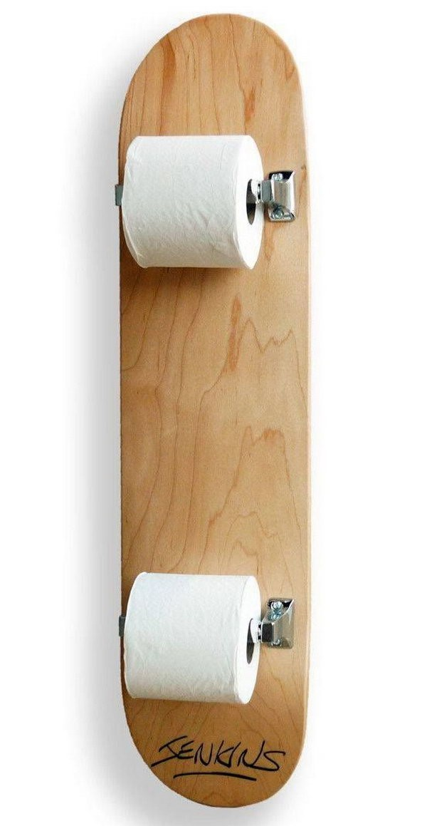 2. Toilet Paper Holders via SIMPHOME.COM