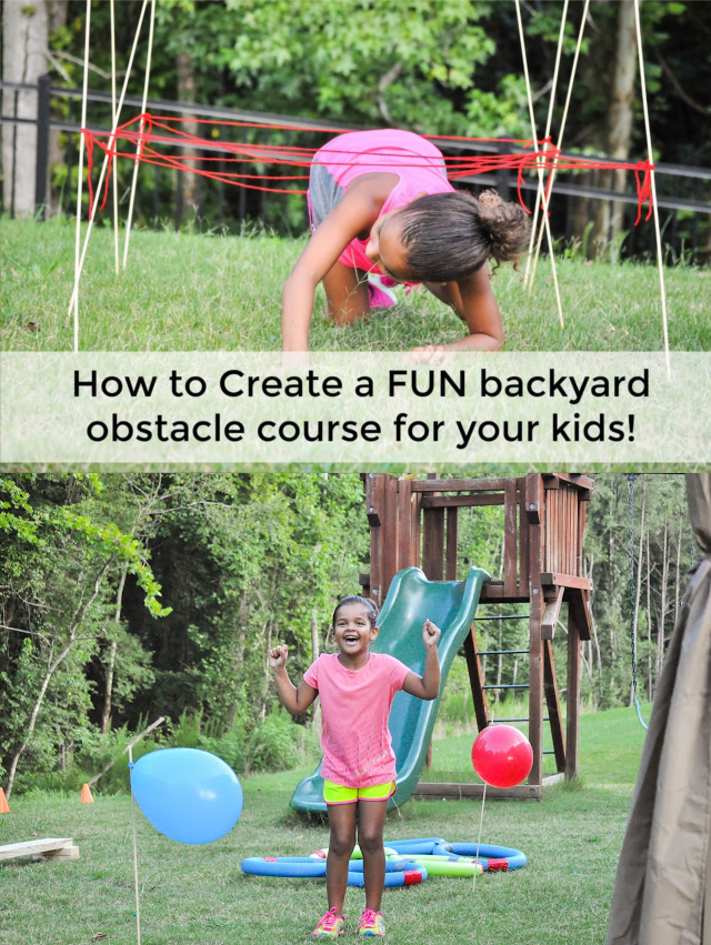 22.How to create fun backyard obstacle course for your kids via SIMPHOME.COM
