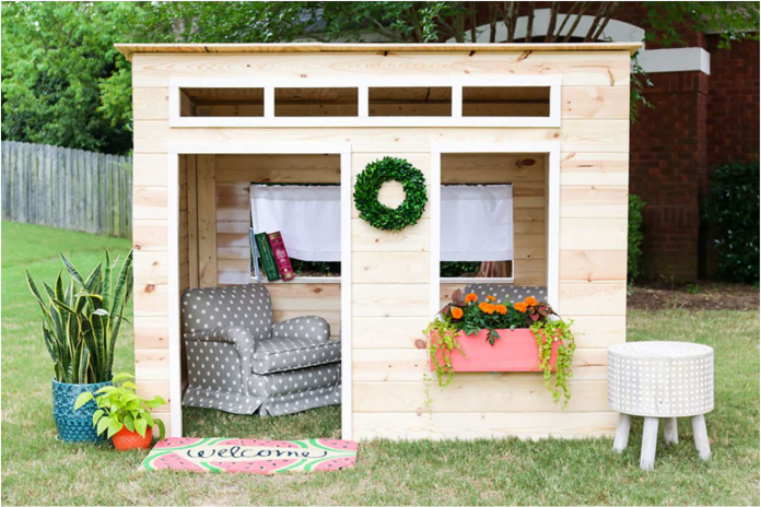 24.SIMPHOME.COM free backyard playhouse plans for kids