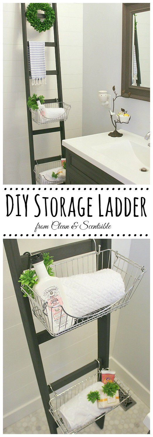 4. Storage Ladder via SIMPHOME.COM