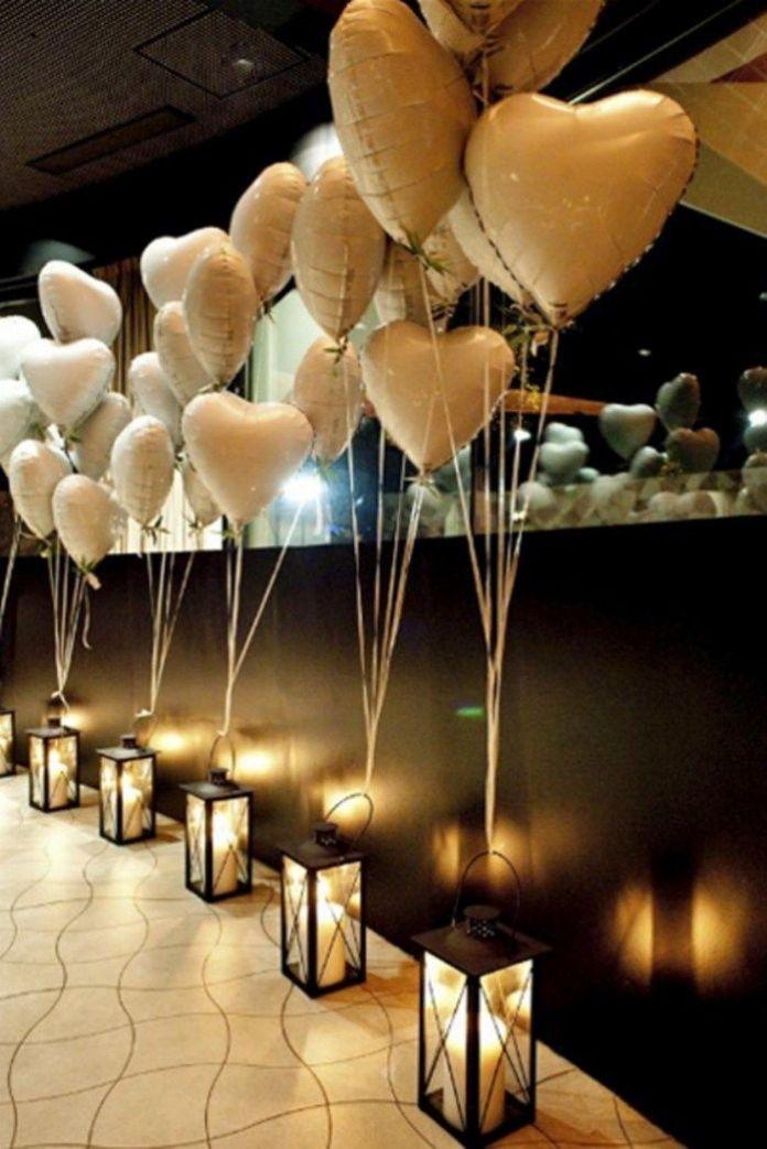 7. Valentines Day Engagement Party via SIMPHOME.COM