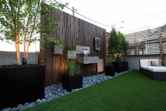 1.Simphome.com Contemporary Fencing Ideas