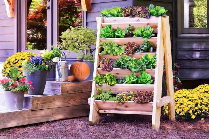 5.Simphome.com Follow this Vertical Herb Planter project idea