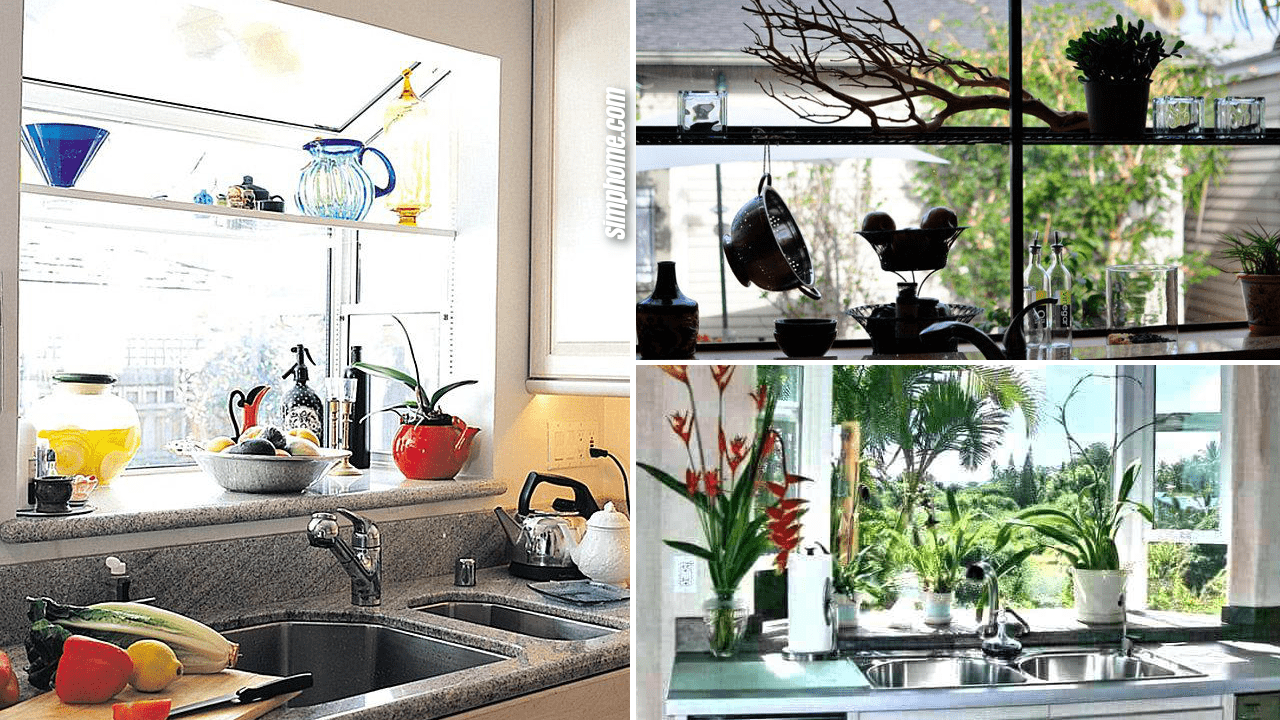 10 Kitchen Garden Window Ideas - Simphome