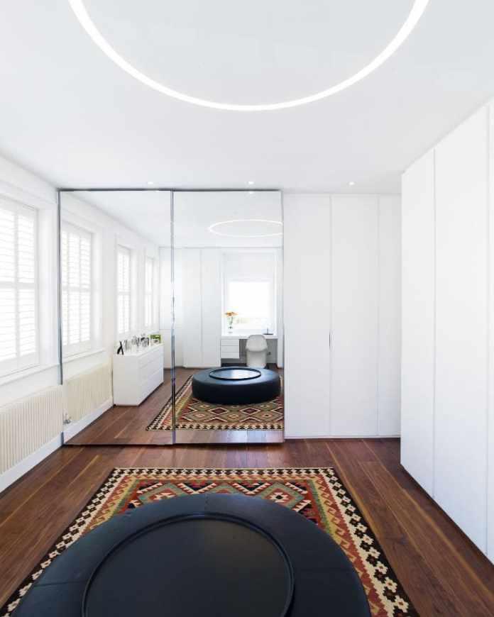 5. Swap Your Closet Doors for Mirror Doors By Simphome.com