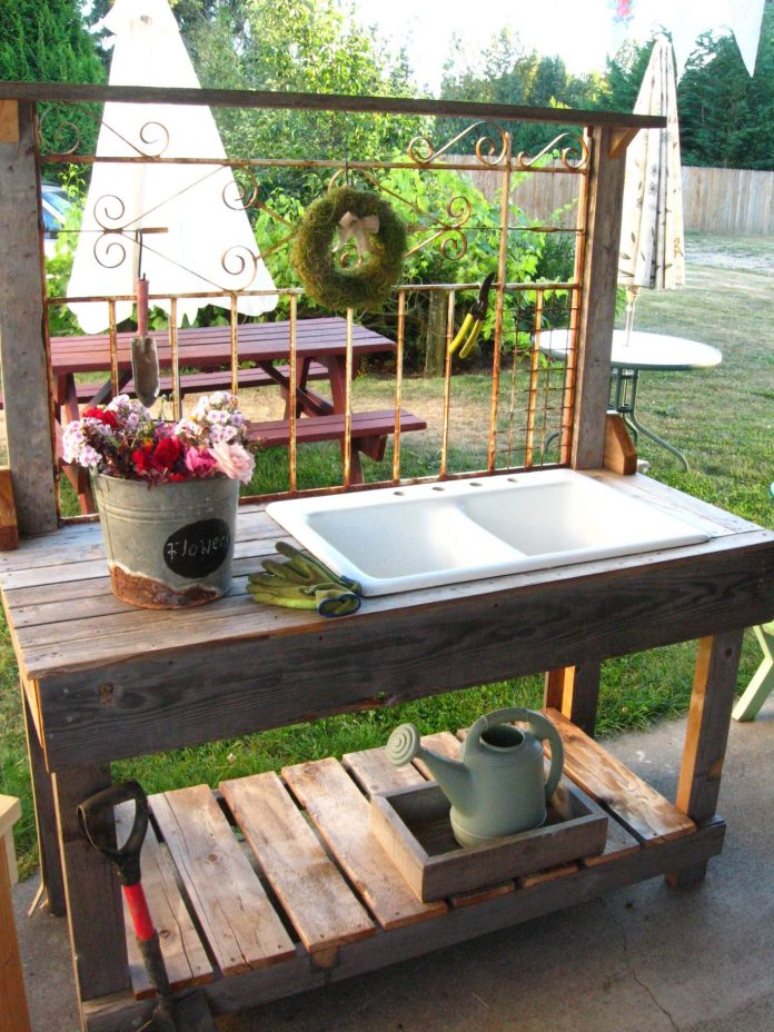 Simphome.com white iron wrought with sink gardening gardening ideas 2020 2021 2022