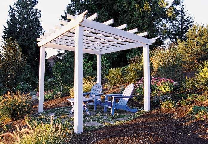 Simphome.com how to make a great garden trellis or arbor sunset magazine for garden trellis ideas