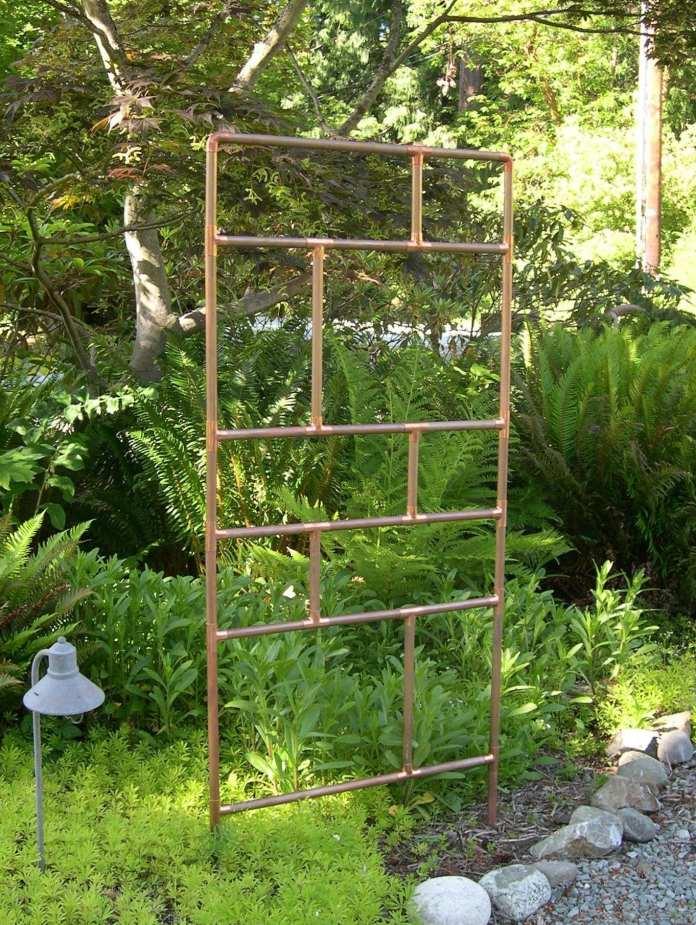 Simphome.garden trellis ideas this one is 5 feet tall 3 feet wide for 2020 2021 2022