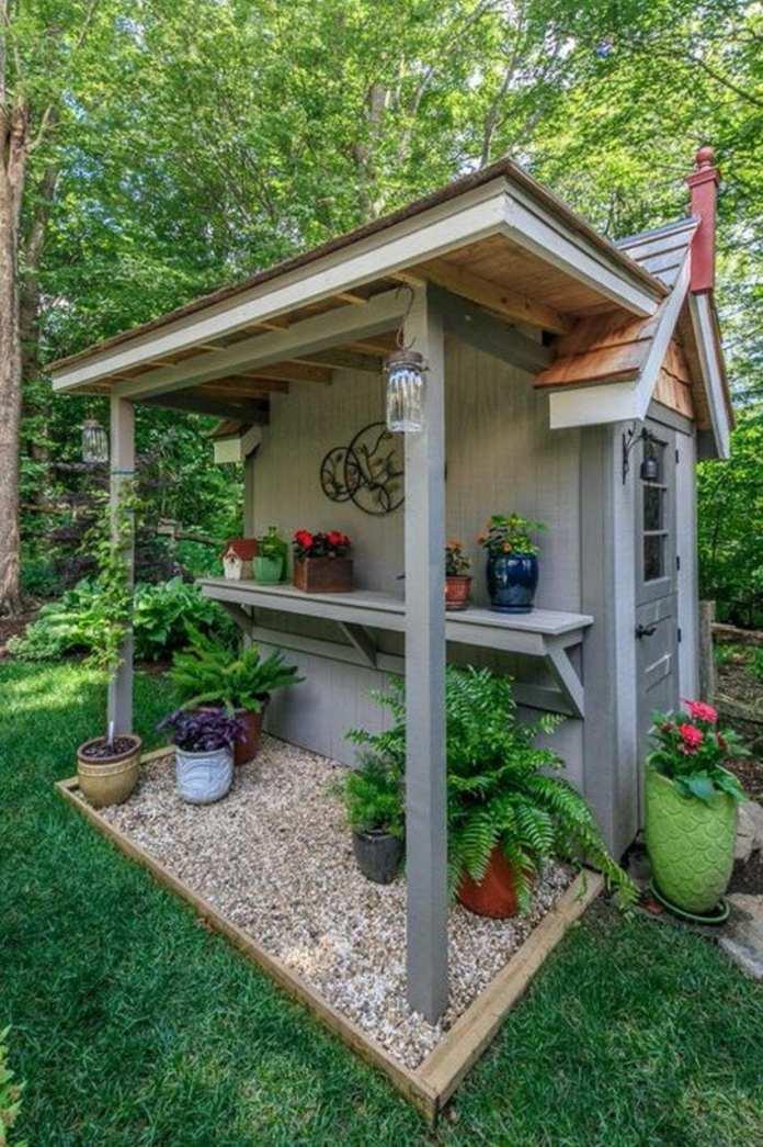 Simphome.com garden shed ideas 1 gardening 2021