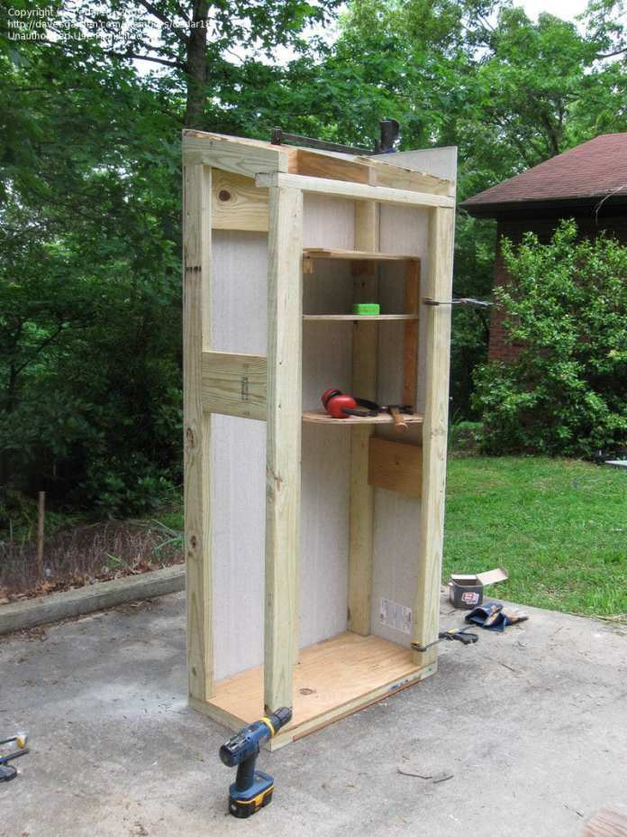 photo of we built a small auxiliary tool shed diy greenhouses regarding small garden shed ideas