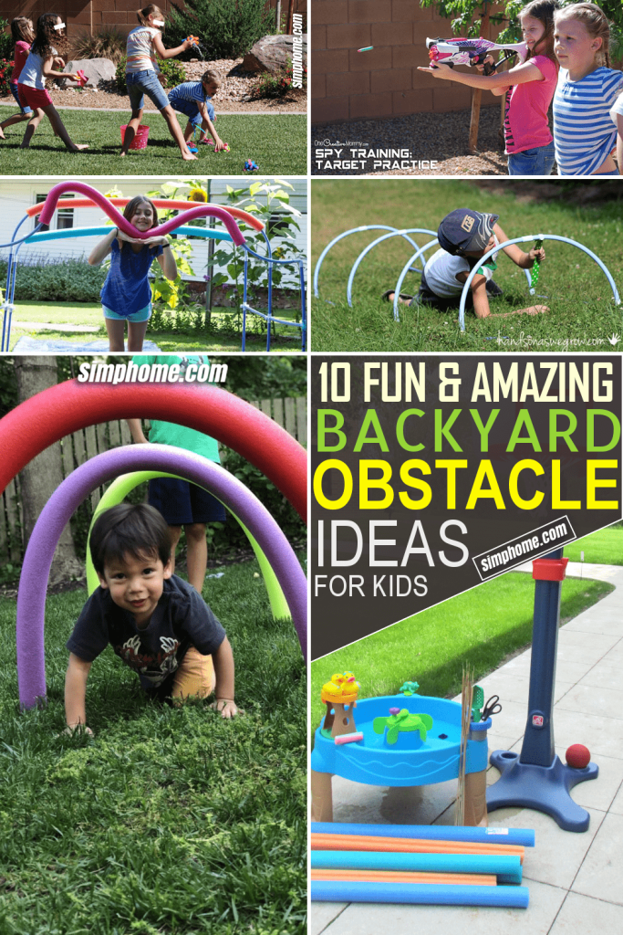 Backyard Obstacle Idea for Kid Ideas by Simphome.com Featured Image