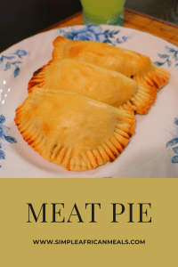 Meat Pie Straight outta the oven