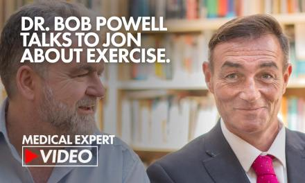 Dr. Bob talks about exercise