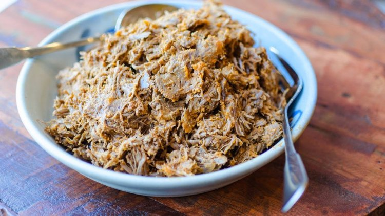 Pressure Cooker Pulled Pork in 45 Minutes