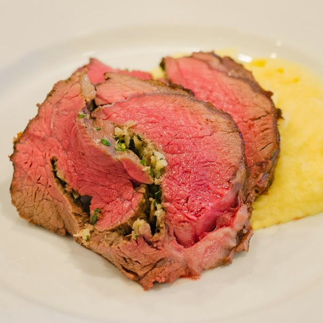 Oven Roasted Beef Tenderloin Slices