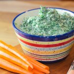 Spinach and Caramelized Leek Dip - Made with Greek Yogurt