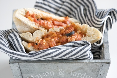 Garbanzo Bean Pita Bread