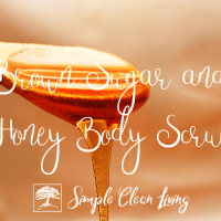 Brown Sugar and Honey Body Scrub